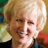 Former Canadian PM Kim Campbell.