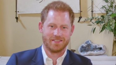 Prince Harry, pictured with wife Meghan,