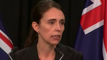 New Zealand Prime Minister Jacinda Ardern speaks about the Christchurch attacks.