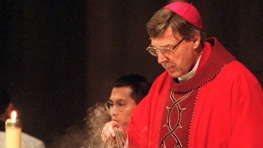 Before he was charged, Cardinal Pell was overseeing Vatican finances.