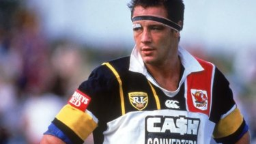 Mark Geyer in the 1996 jersey for the Western Reds.