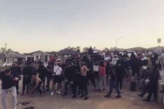 Police were called to the scene of a rap music video shoot in Claymore on Saturday night when it got out of hand.