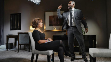 Gayle King has been praised for her composure during her explosive interview with R. Kelly.