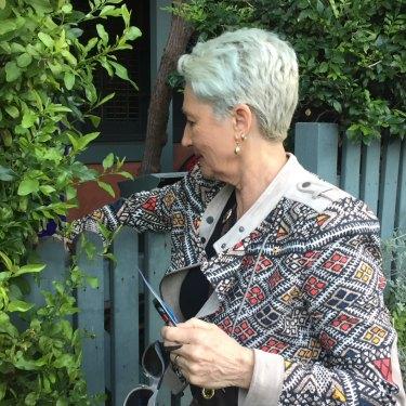 Kerryn Phelps doorknocking in Woollahra.