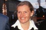 Sophie Toscan du Plantier, centre.