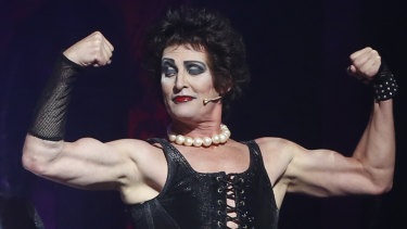 Todd McKenney in the Rocky Horror Picture Show.