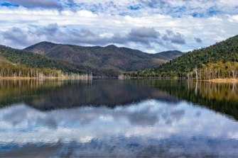 Borumba Dam near Gympie, with its 43-metre high dam wall, is being considered as a potential pumped hydro site, like Wivenhoe and Somerset dams.