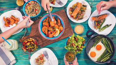 The Mediterranean diet gets the balance right for heart health.