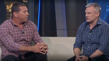 Bryan Fletcher and Paul Kent on Fox Sports.