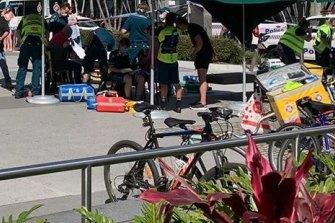 Car crashes into Starbucks coffee shop on Gold Coast