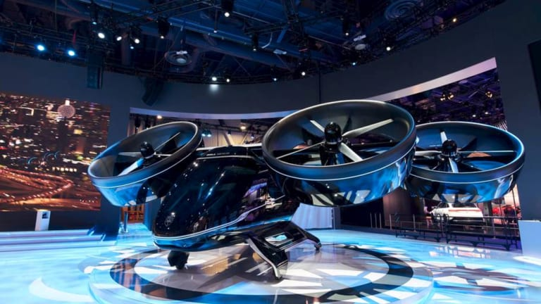 The Nexus aircraft from Bell and Uber.