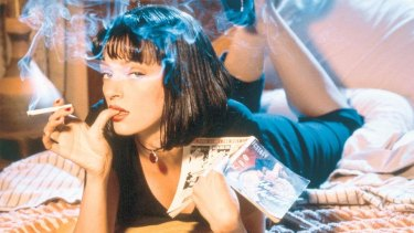 Uma Thurman in 1994's Pulp Fiction.