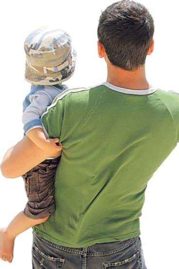 Dads spending time caring for and connecting with their children is beneficial for the child's development.