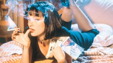 Uma Thurman in 1994's Pulp Fiction.