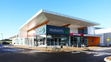 SCA Property Group's North Orange shopping centre.