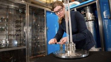 Brisbane's CSIRO hydrogen energy pilot program.