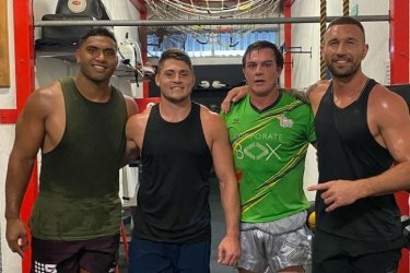Tevita Pangai Jr believes his relationship with Quade Cooper has been the secret to his success on the field.