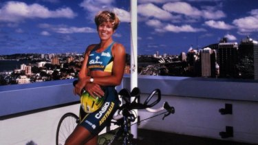 Susan Hunt wore the green and gold for her country.