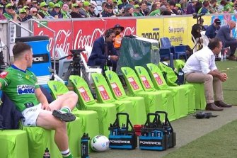 Ricky Stuart had Tom Starling as his only reserve after some early carnage last weekend.