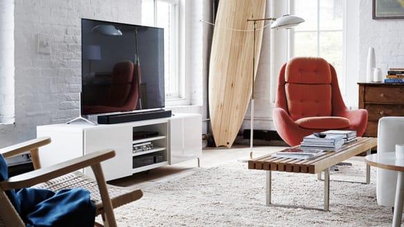 Even a cheap soundbar can make a TV sound much better.