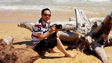 Dr Luping Zeng was shot dead in his MacGregor home on Monday night.