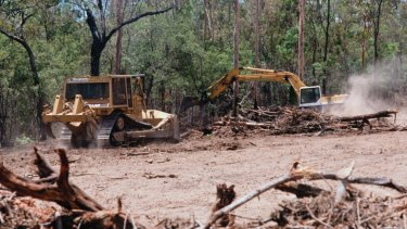 Landholders have been warned they face fines of almost $600,000 if they have cleared without seeking a council permit.