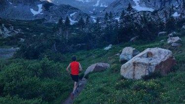 Scott Jurek uses as little technology as possible when he runs.