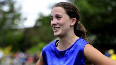 Backmarker: Maddie Coates.