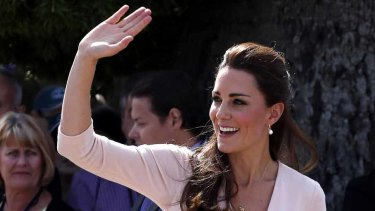 Kate Middleton, Her Royal Highness, The Duchess of Cambridge.