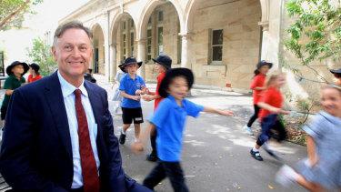 "Bondi Public School principal Michael Jones said the ""popcorn initiative"" had been a great success."