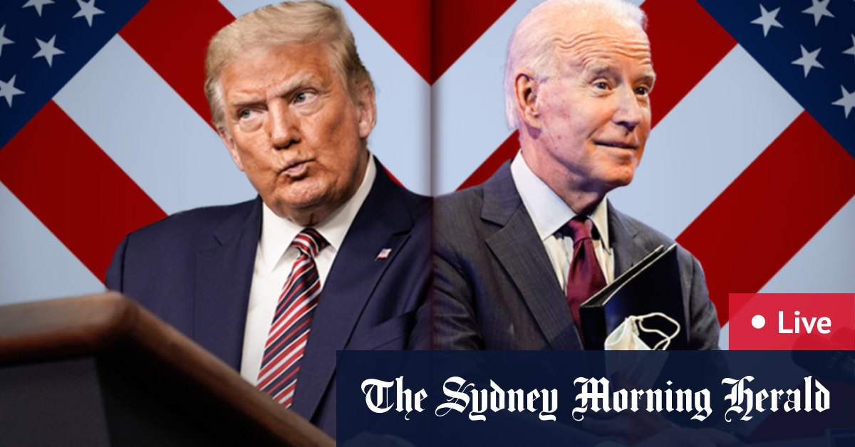 US Presidential Debate LIVE updates: Donald Trump and Joe Biden clash over race issues coronavirus and Obamacare – The Sydney Morning Herald