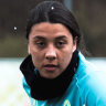 Matildas coach lauds Sam Kerr as plaudits pile up