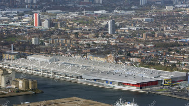 The ExCel Centre in London will be transformed into a 4000-bed temporary hospital to treat COVID-19 patients.
