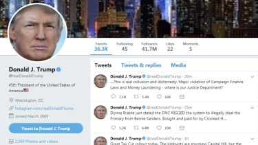 Donald Trump is a big fan of Twitter and doesn't hesitate to block some critics,