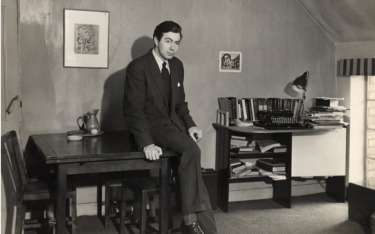 Noel Hush in Manchester, 1953.