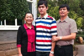 Sun Yang's parents Ming Yang and Sun Quanhong were both athletes.