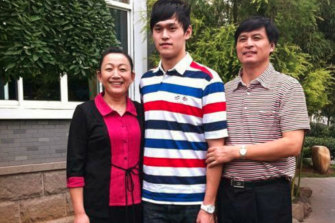 Sun Yang's parents Ming Yang and Sun Quanhong were both athletes.