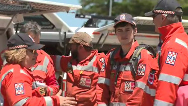 Police and SES members search for 25-year-old British tourist Aslan King who remains missing after suffering a medical condition, hitting his head and fleeing into bushland. King went missing froma campsite at Princetown, near the Twelve Apostles.