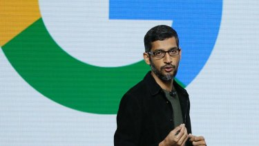 Google CEO Sundar Pichai has struck a $US1 billion deal with some publishers for the distribution of their stories.