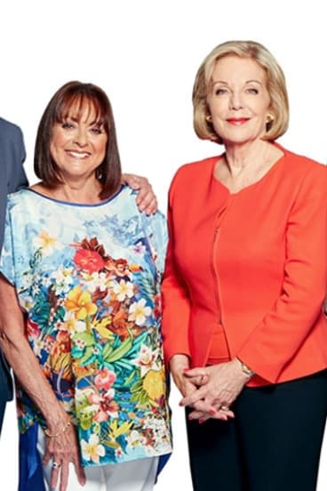Studio 10's Denise Drysdale and Ita Buttrose