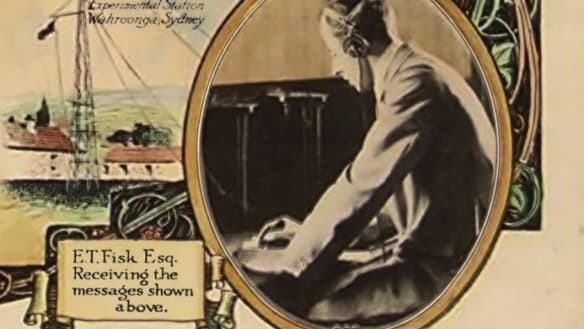 Hello Australia: 100 years ago, the first direct wireless message