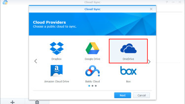 Some NAS boxes allow you to sync an encrypted backup of your storage to the cloud.