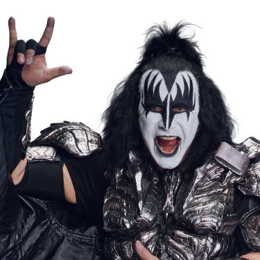 """Gene Simmons: """"If Kiss had only existed for two or three years and that was the end of it, that would have been OK. The short story is, be grateful."""""""