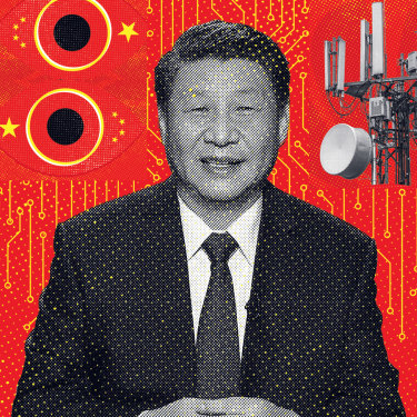President Xi Jinping made it his personal mission to place Huawei at the centre of the global internet.
