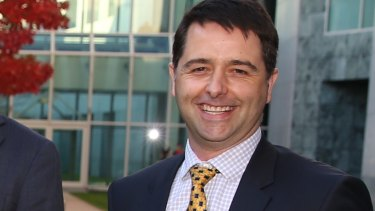 Disability Discrimination Commissioner Alastair McEwin.