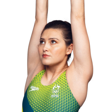"""Melissa Wu: """"I've had pretty much every injury under the sun, but I'm lucky that I haven't had – touch wood – anything major that's put me out of the Australian squad."""""""