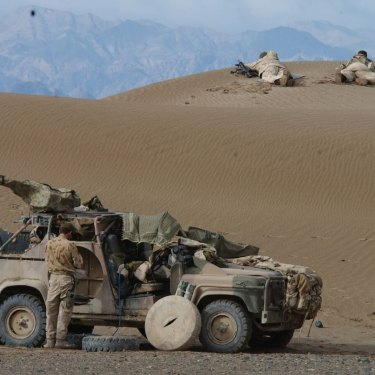 Australian SAS troops in Afghanistan.