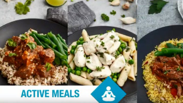 Meal delivery subscription Five Point Four offered weight loss, vegetarian and gluten free food delivery.