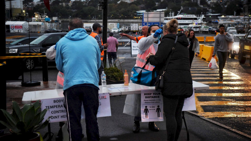Smaller crowds gather at Sydney Fish Market as people stay home – Sydney Morning Herald