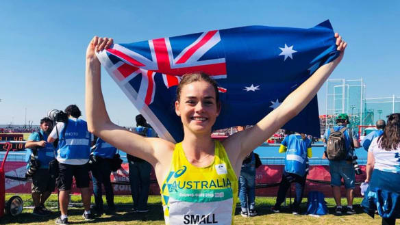Youth Olympic gold sparks Tokyo dreams for Canberra teen Keely Small